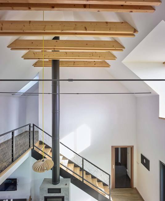 Podkroví, střechy, stropy