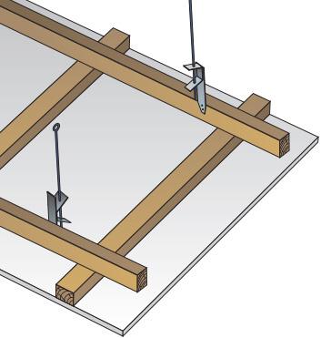 Nosné konstrukce z dřevěných latí