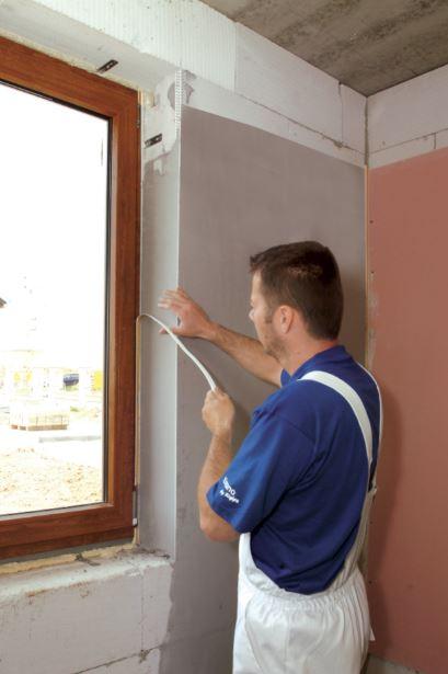 Zapravení okenní špalety