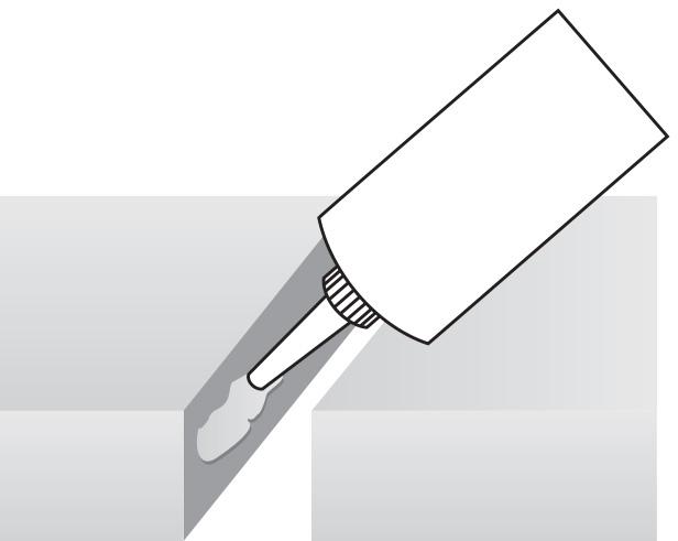 Spáry sádrovláknitých konstrukcí Rigidur