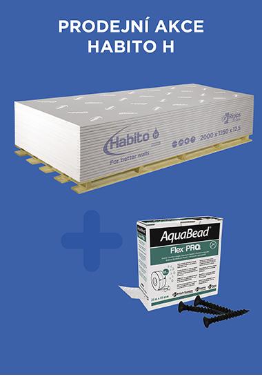 Nakupte Habito® H a získejte pásku AquaBead® Flex Pro + šrouby ZDARMA!