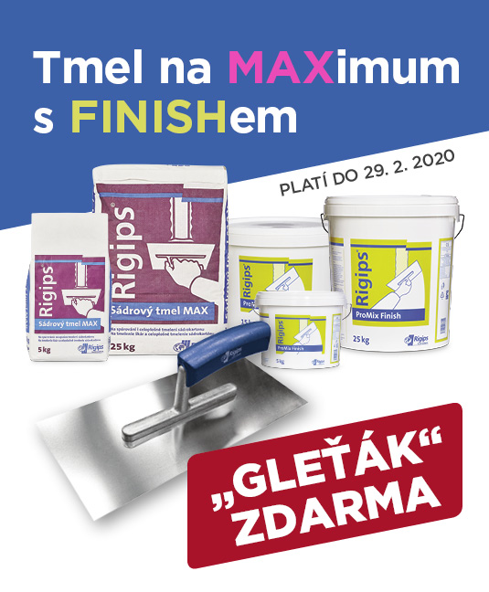 AKCE: Tmel na MAXimum s FINISHem
