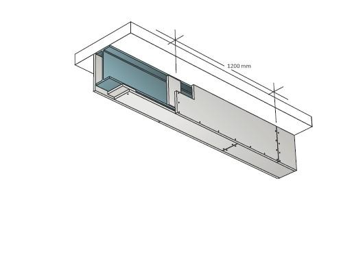 Montáž ocelových sloupů a nosníků deskami Glasroc F Ridurit