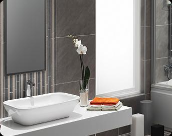 Glasroc H nedá vodě ani plísni žádnou šanci. Inovace ve vaší koupelně!