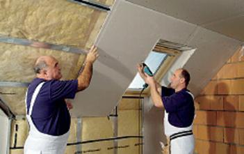 Zásady použití tepelné izolace a parozábrany v konstrukcích Rigips